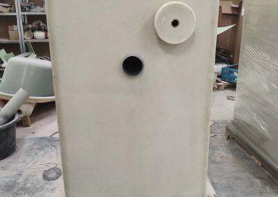 Zbiornik na wodę z kompozytu dla straży pożarnej